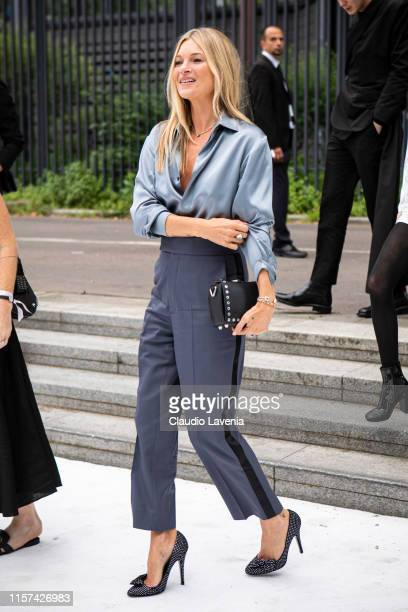 Kate Moss is seen during the Dior Homme Menswear Spring Summer 2020 show on June 21 2019 in Paris France