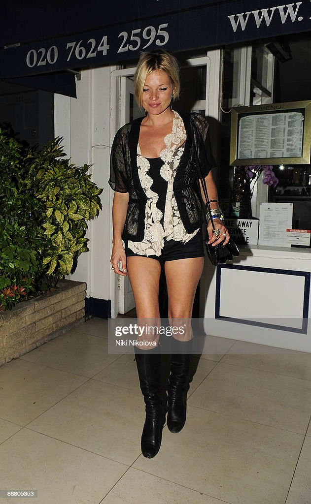Celebrity Sightings In London - July 2, 2009 : News Photo