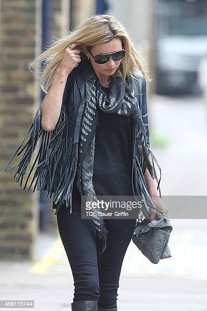 Kate Moss is seen on April 11 2012 in London United Kingdom