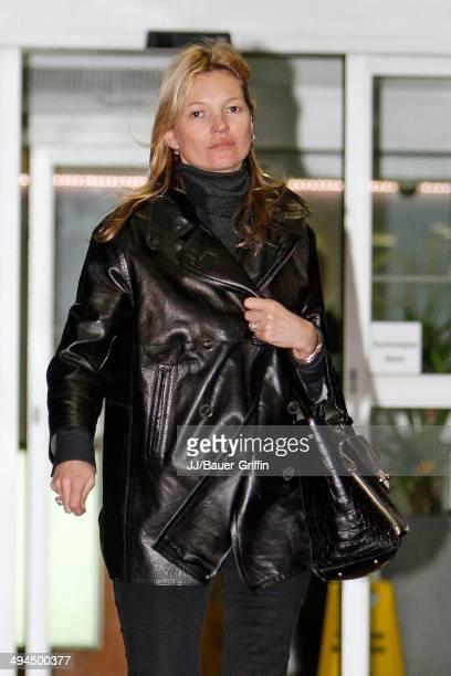 Kate Moss is seen on February 07 2013 in London United Kingdom