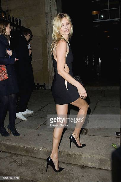 Kate Moss is seen on February 18 2012 in London United Kingdom