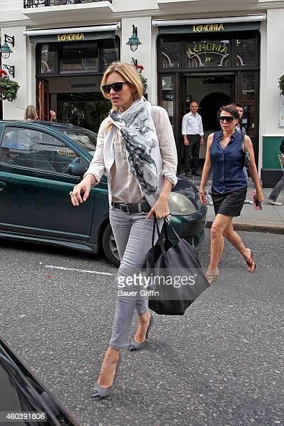 Kate Moss is seen on June 19 2012 in London United Kingdom