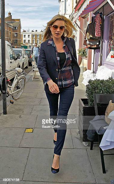 Kate Moss is seen on March 24 2011 in London United Kingdom