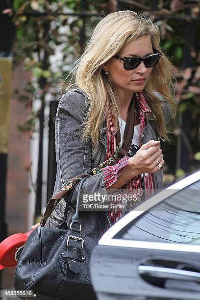 Kate Moss is seen on May 05 2012 in London United Kingdom