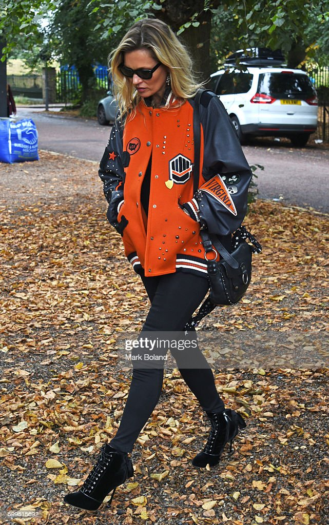 Kate Moss Sighting In London - September 5, 2016 : News Photo