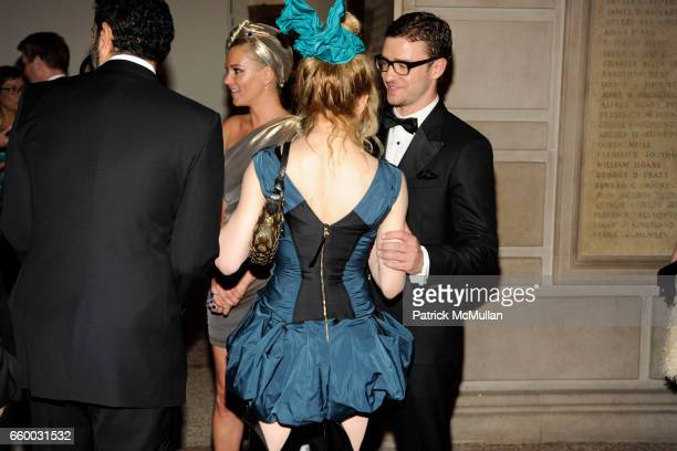 Kate Moss Madonna and Justin Timberlake attend THE COSTUME INSTITUTE GALA The Model As Muse with Honorary Chair MARC JACOBS INSIDE at The...