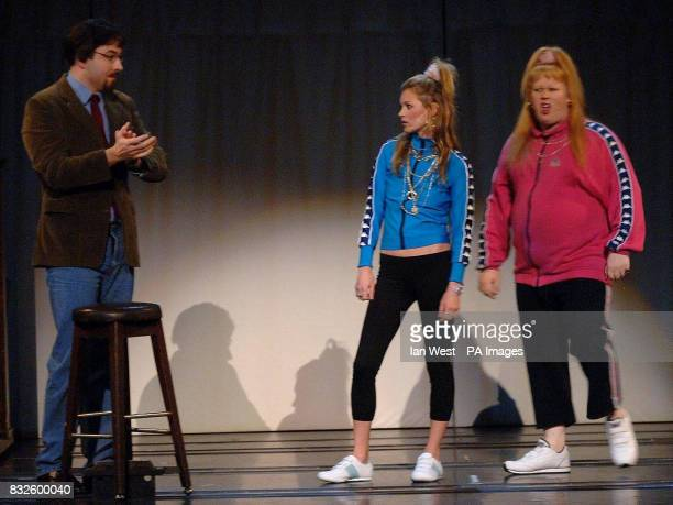 Kate Moss makes a cameo as Katie Pollard sister of Vicky Pollard in a special Comic Relief performance of the Little Britain stage show at the...