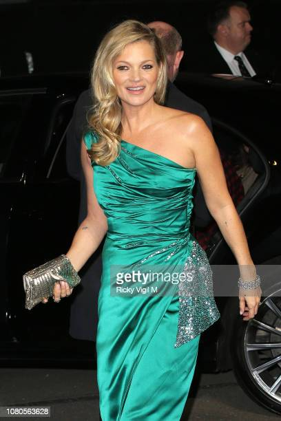 Kate Moss seen arriving at The Fashion Awards 2018 at the Royal Albert Hall on December 10 2018 in London England