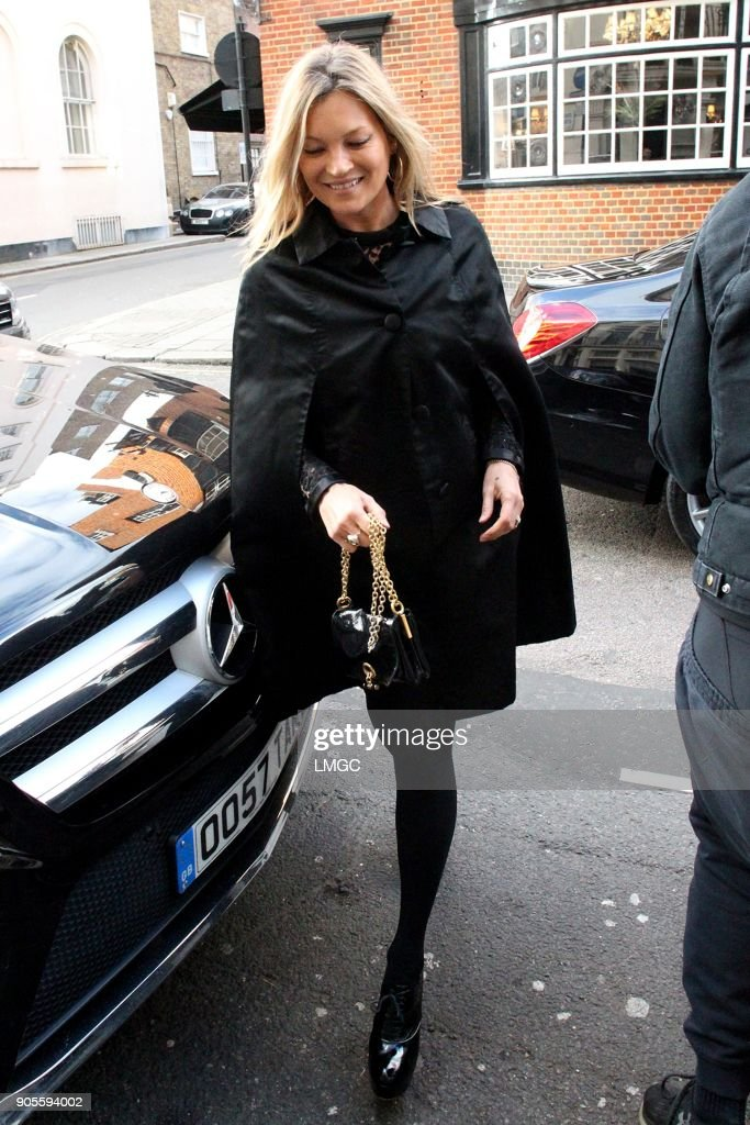 Kate Moss 44th Birthday Celebrations -  January 16, 2018