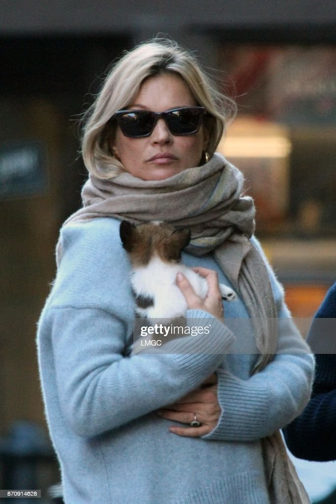Kate Moss Sighting -  November 06, 2017