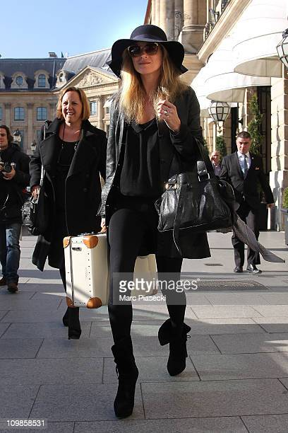 Kate Moss sighted on March 7 2011 in Paris France