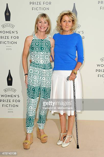 Kate Mosse and Martha LaneFox arrive to celebrate the 2015 Baileys Women's Prize for Fiction at London's Royal Festival Hall on Wednesday 3 June 2015...