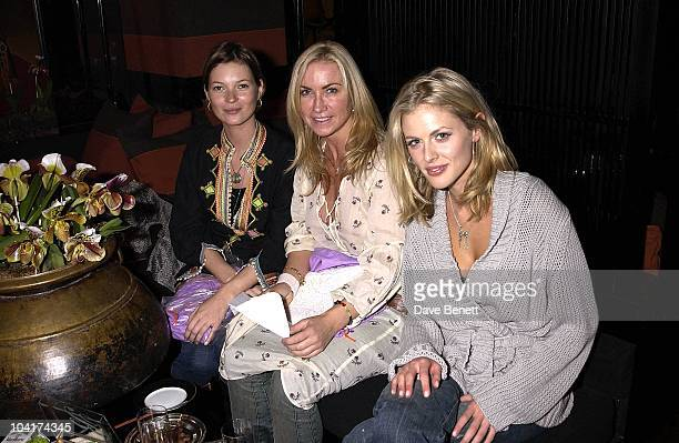 Kate Mossmeg Mathews And Donna Air Enjoying A Cup Of Tea Meg Mathews Celebrated Her Birthday By Having A Tea Party With Her Girlfriends At Blakes...