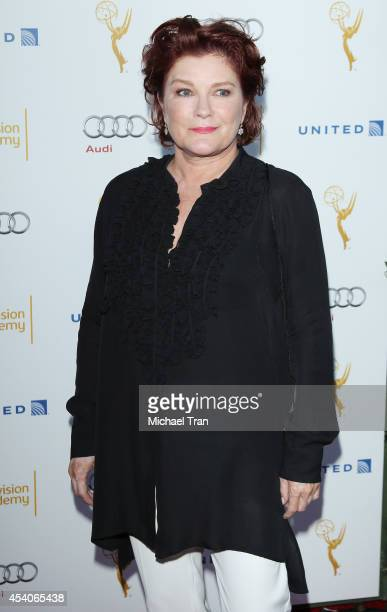 Kate Mulgrew arrives at the Television Academy Performers Nominee Reception for The 66th Emmy Awards held at Spectra by Wolfgang Puck at the Pacific...