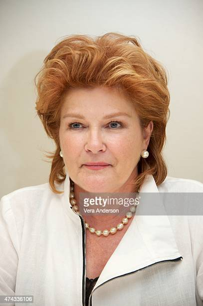 Kate Mulgrew at the Orange Is The New Black Press Conference at the Four Seasons Hotel on May 20 2015 in Beverly Hills California