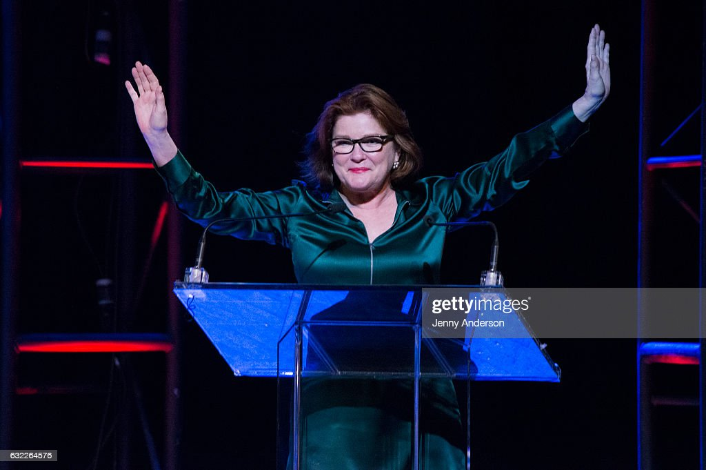 Kate Mulgrew attends Concert For America: Stand Up, Sing Out! at Town Hall on January 20, 2017 in New York City.