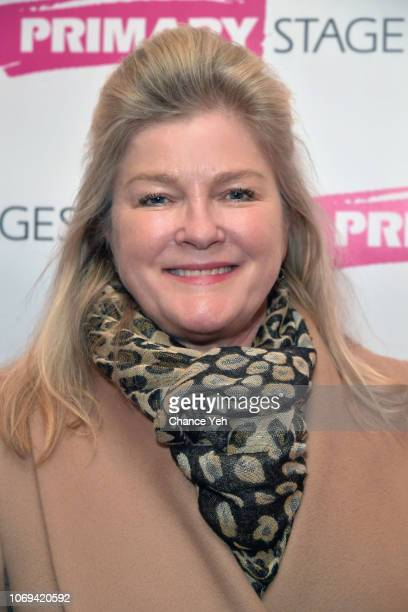 Kate Mulgrew attends Downstairs opening night at Cherry Lane Theatre on November 18 2018 in New York City