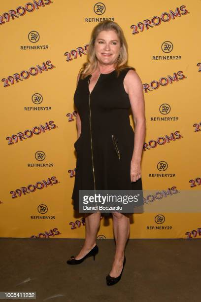 "Kate Mulgrew attends ""Refinery29's 29Rooms Turn it Into Art"" on July 25 2018 in Chicago Illinois"