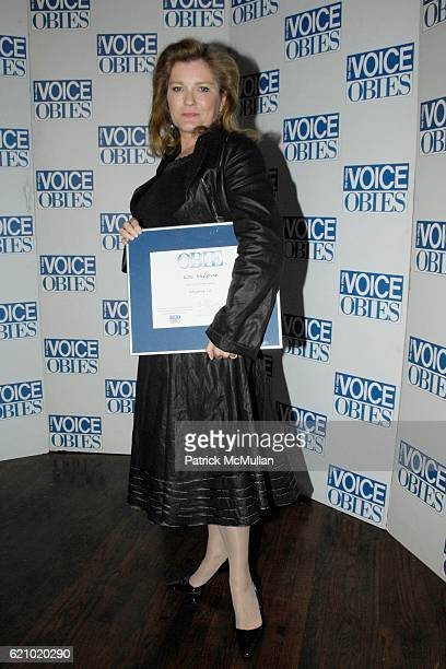 Kate Mulgrew attends The 53rd Annual Village Voice OBIE Awards at Webster Hall on May 19 2008 in New York City