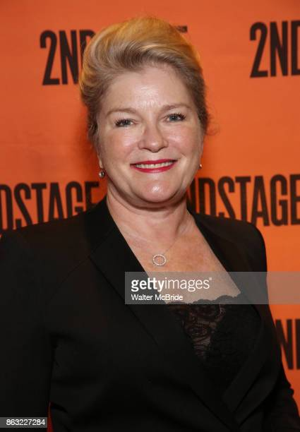 Kate Mulgrew attends the OffBroadway Opening Night performance of the Second Stage Production of 'Torch Song' on October 19 2017 at Tony Kiser...