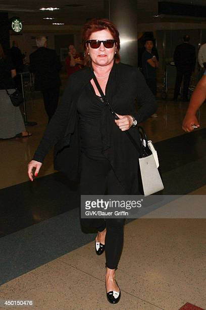 Kate Mulgrew seen at LAX on June 05 2014 in Los Angeles California