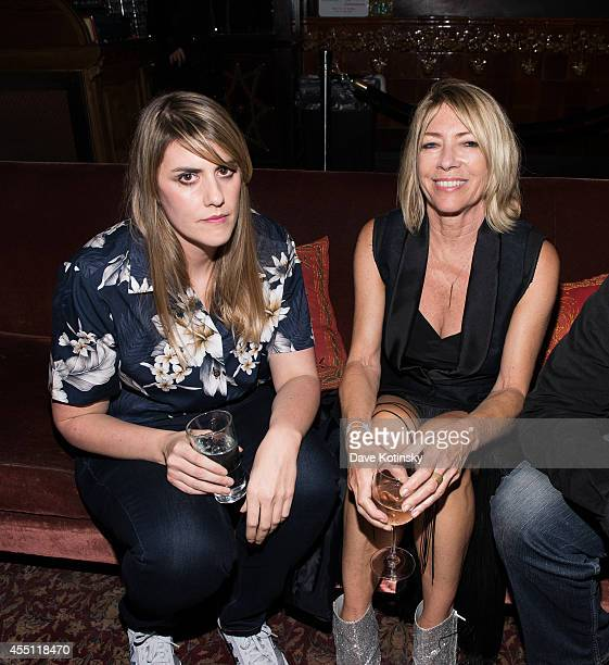 Kate Mulleavy and Kim Gordan attend the first Tumblr Fashion Honor presented to Rodarte at The Jane Hotel on September 9 2014 in New York United...