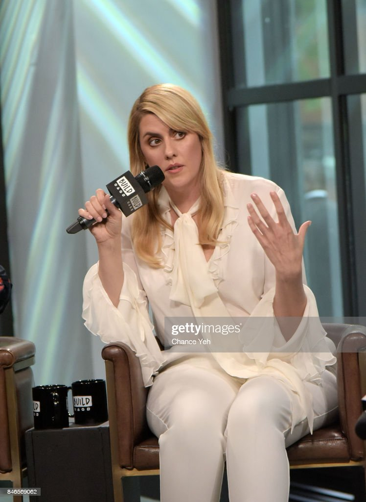 Kate Mulleavy attends Build series to discuss 'Woodshock' at Build Studio on September 13, 2017 in New York City.