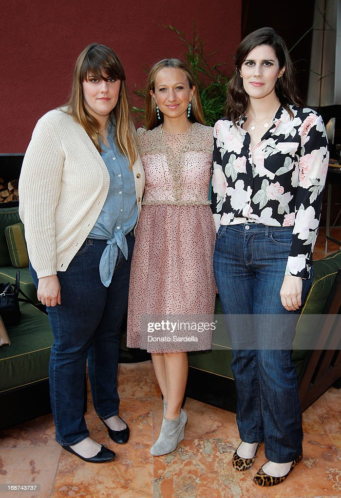 Kate Mulleavy, Jennifer Meyer and Laura Mulleavy attend a celebration of Jennifer Meyer's CFDA Swarovski nomination hosted by Rodarte at the residence of Joel and Karyn Silver on May 11, 2013 in Los Angeles, California.