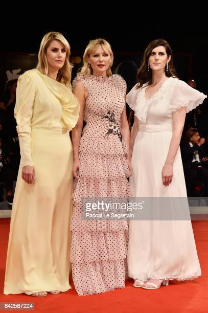 Kate Mulleavy Kirsten Dunst and Laura Mulleavy from 'Woodshock' movie walks the red carpet ahead of the 'Three Billboards Outside Ebbing Missouri'...