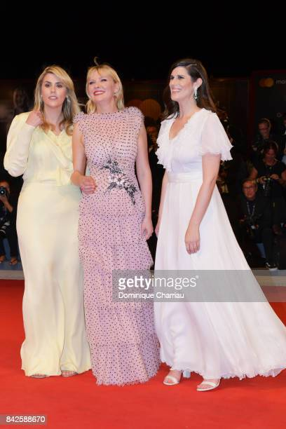Kate Mulleavy Kirsten Dunst and Laura Mulleavy from 'Woodshock' movie walk the red carpet ahead of the 'Three Billboards Outside Ebbing Missouri'...