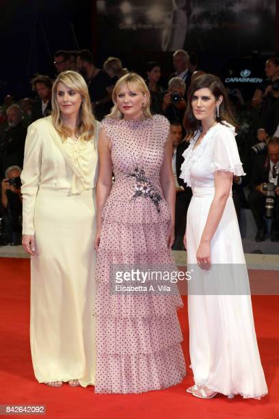Kate Mulleavy Kirsten Dunst and Laura Mulleavy walk the red carpet ahead of the 'Woodshock' screening during the 74th Venice Film Festival at Sala...
