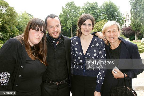 Kate Mulleavy Laura Mulleavy Alexandre Debetak and Odile Gilbert attend the 'Breathless' Private Projection at US Embassy of France on June 10 2010...