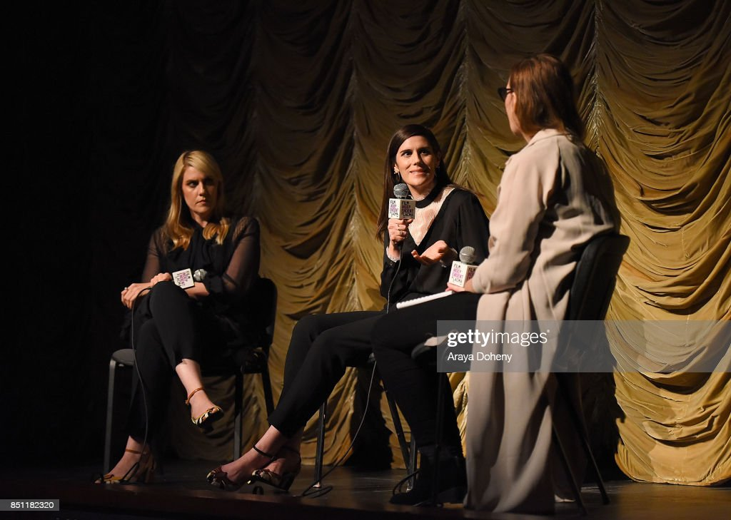 Kate Mulleavy, Laura Mulleavy and Jennifer Cochis attend the Film Independent at LACMA screening and Q+A of 'Woodshock' at LACMA on September 21, 2017 in Los Angeles, California.