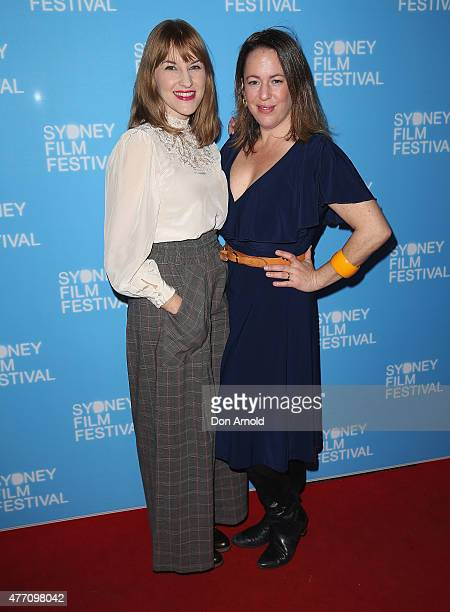 Kate Mulvaney and Sacha Horler arrive at the 'Holding The Man' World Premiere during the Sydney Film Festival Closing Night Gala at the State Theatre...