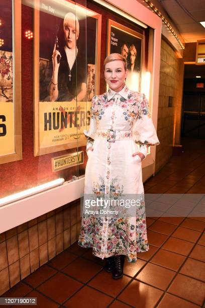 Kate Mulvany at Amazon Prime Video's Hunters Grindhouse Experience VIP Preview on February 18, 2020 in Los Angeles, California.