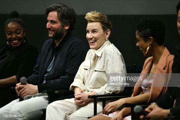 "Kate Mulvany at Film Independent Screening Series Presents ""Hunters"" at ArcLight Culver City on February 20, 2020 in Culver City, California."
