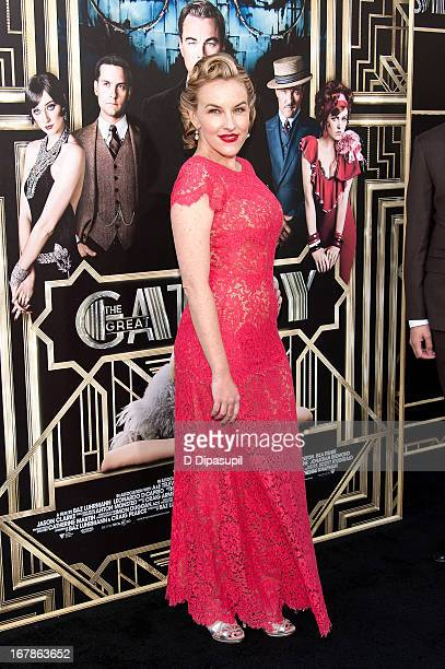 "Kate Mulvany attends ""The Great Gatsby"" world premiere at Alice Tully Hall at Lincoln Center on May 1, 2013 in New York City."