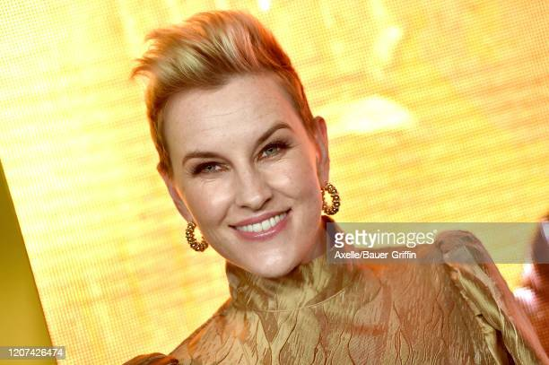 "Kate Mulvany attends the premiere of Amazon Prime Video's ""Hunters"" at DGA Theater on February 19, 2020 in Los Angeles, California."