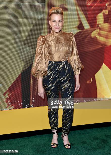 Kate Mulvany attends the premiere of Amazon Prime Video's Hunters at DGA Theater on February 19 2020 in Los Angeles California