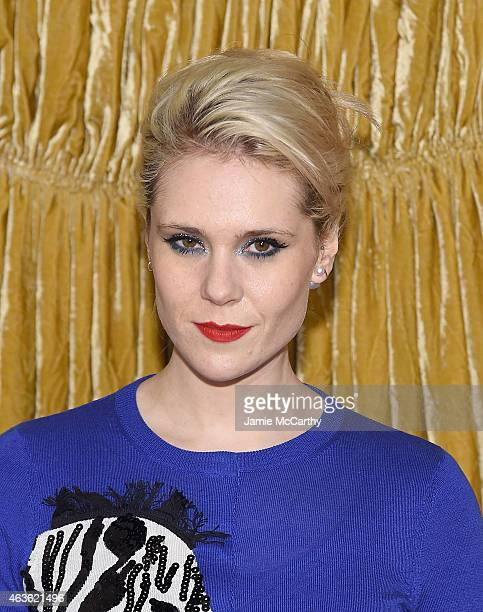 Kate Nash arrives at the Alice Olivia presentation during MercedesBenz Fashion Week Fall 2015 on February 16 2015 in New York City