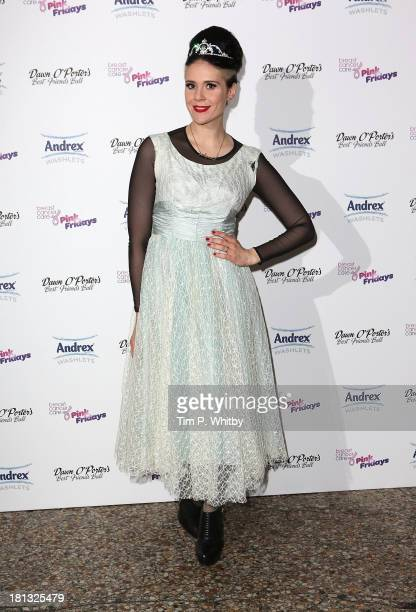 Kate Nash attends Dawn O'Porters Best Friends Ball to launch Breast Cancer Care's Pink Fridays campaign at Bush Hall on September 20 2013 in London...