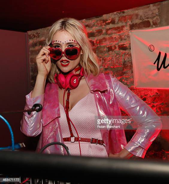 Kate Nash attends Galore X Magnises Fashion Week Valentines Day Party on February 14 2015 in New York City