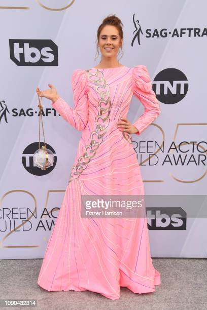 Kate Nash attends the 25th Annual Screen Actors Guild Awards at The Shrine Auditorium on January 27 2019 in Los Angeles California