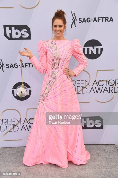 Kate Nash attends the 25th Annual Screen ActorsGuild Awards at The Shrine Auditorium on January 27 2019 in Los Angeles California