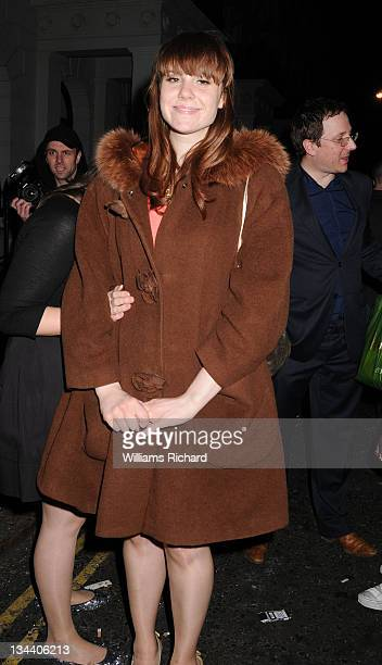 Kate Nash attends the Brit Awards 2008 Universal/Island Records After Party at the Hempel Hotel on February 20 2008 in London