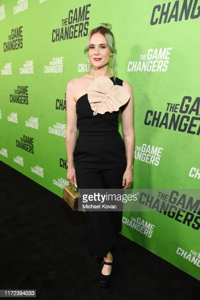 Kate Nash attends the Los Angeles Premiere of The Game Changers Documentary at ArcLight Hollywood on September 04 2019 in Hollywood California