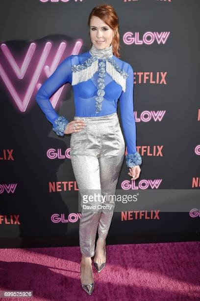 Kate Nash attends the Premiere Of Netflix's 'GLOW' Arrivals at The Cinerama Dome on June 21 2017 in Los Angeles California