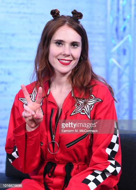 Kate Nash during a BUILD event at AOL London on August 14 2018 in London England