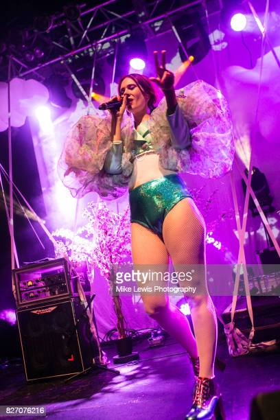 Kate Nash performs at O2 Academy Bristol on August 6 2017 in Bristol England