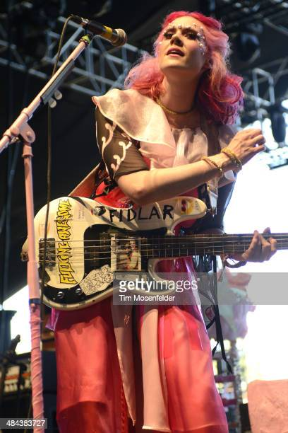 Kate Nash performs at The Empire Polo Club on April 11 2014 in Indio California
